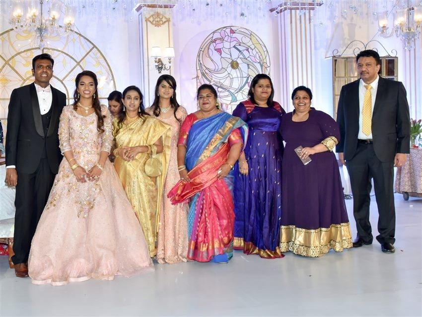Dr.S.M Balaji Daughter Marriage Reception Photos