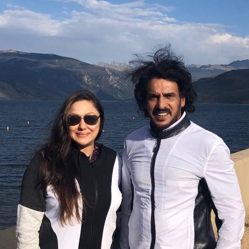 Kannada Actor Upendra Family Foreign Tour Photos