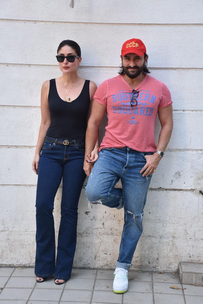 Kareena Kapoor Khan & Saif Ali Khan For Facebook Live Event Photos