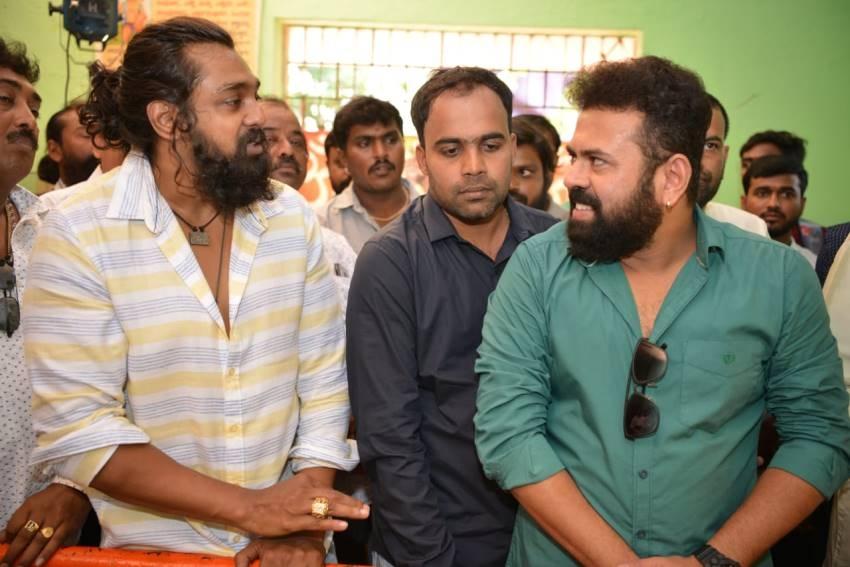 Kshatriya Movie Pooja Photos