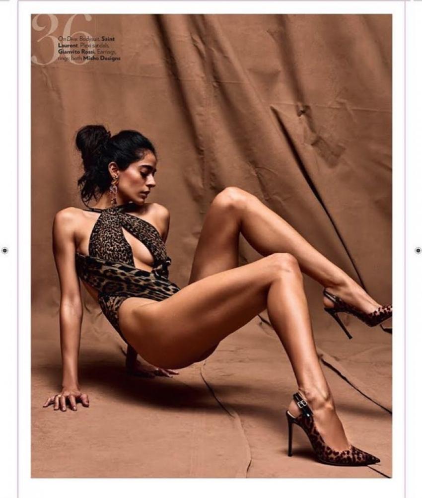 Mahesh Babu Thums Up Add Fame Diva Dhawan Photos