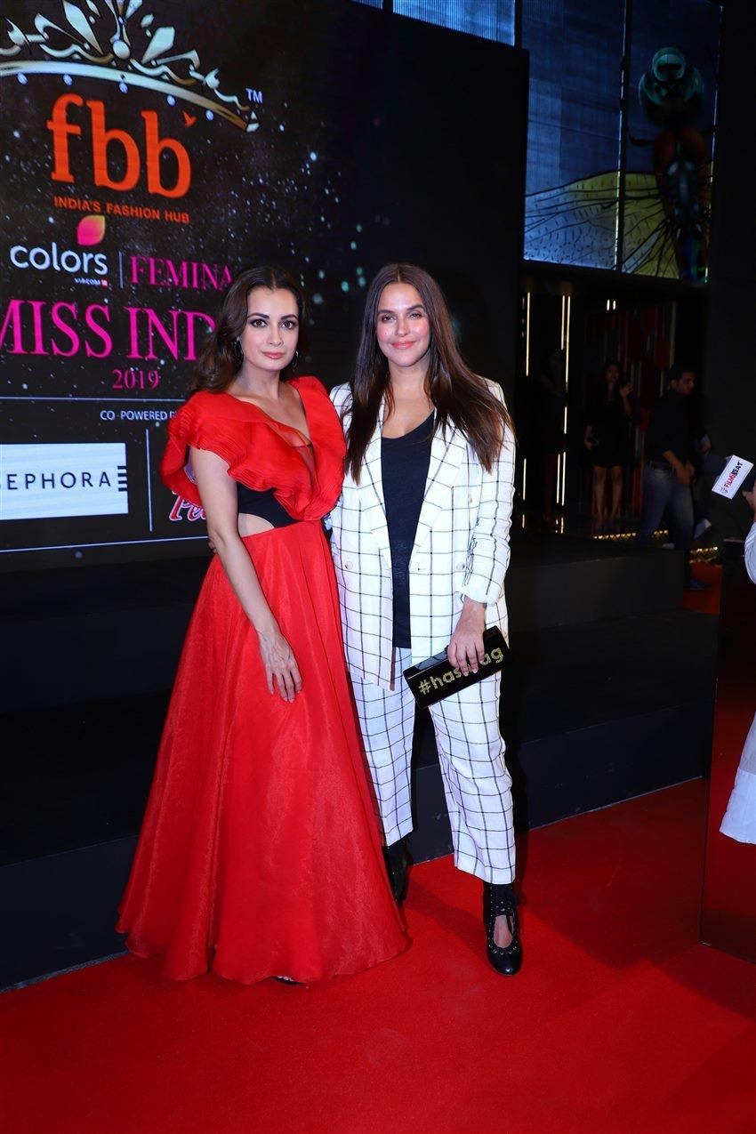 Miss India 2019 Curtain Raiser Photos