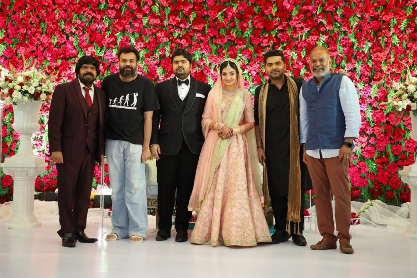 Music Director Kuralarasan Rajendra & Nabeelah Wedding Reception In Chennai Photos