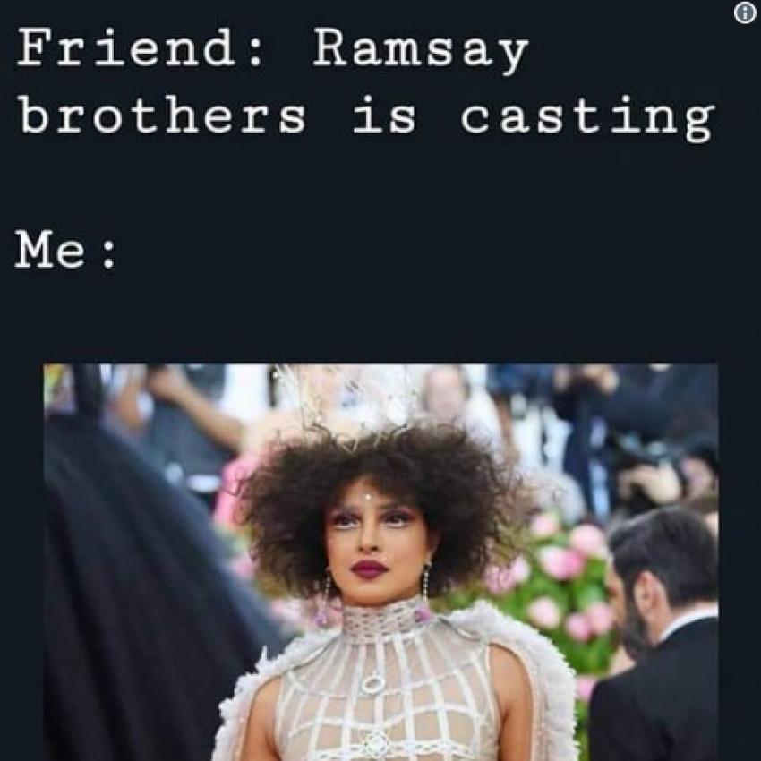 Priyanka Chopra Met Gala 2019 Funny Tamil Memes Photos