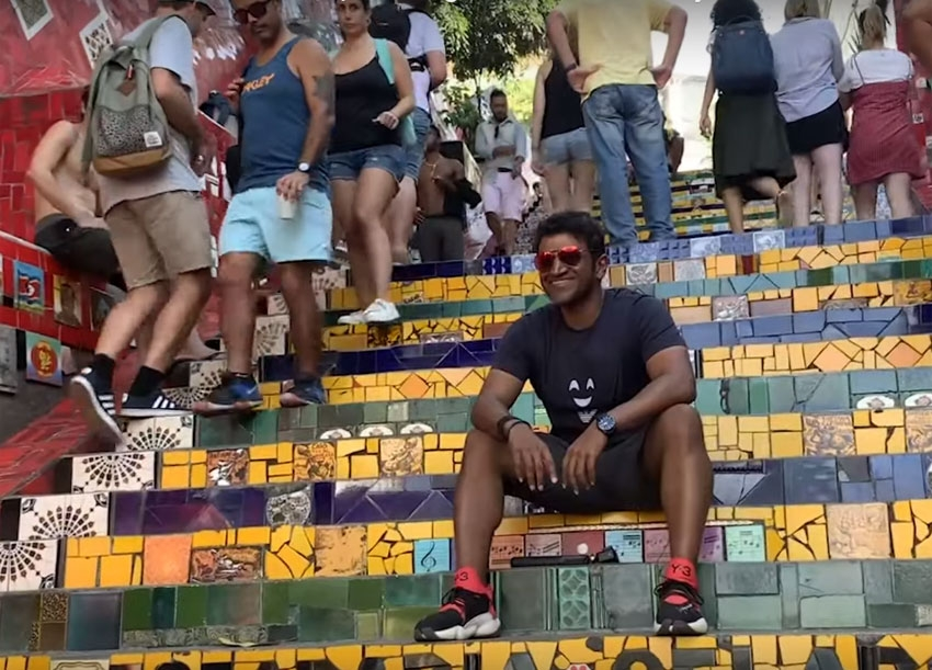 Puneeth Rajkumar Best Moments From South America Vacation Photos