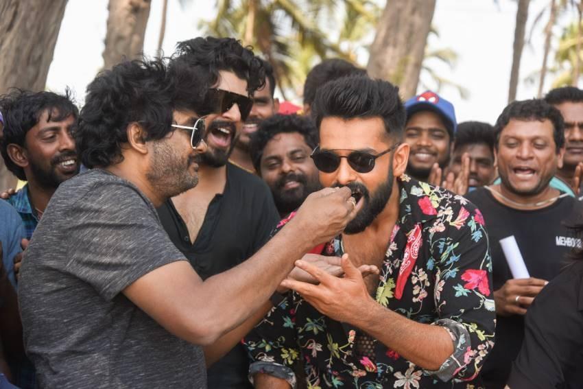 Ram Birthday Celebrations held at Goa on the sets of Ismart Shankar Movie Photos