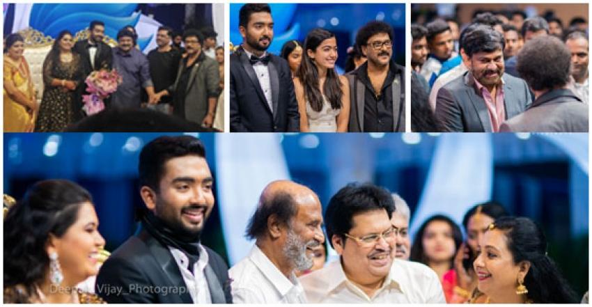 Ravichandran Daughter Wedding Reception Photos