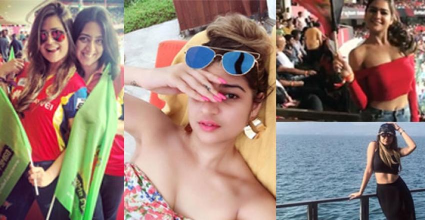 Royal Challengers Bangalore Fangirl Deepika Ghose Photos Goes Viral Photos