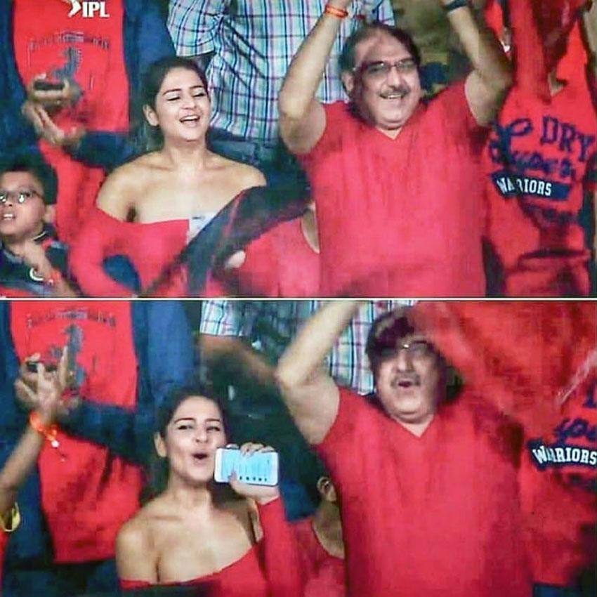 Royal Challengers Bangalore Fangirl Deepika Ghose Photos Goes Viral Photos