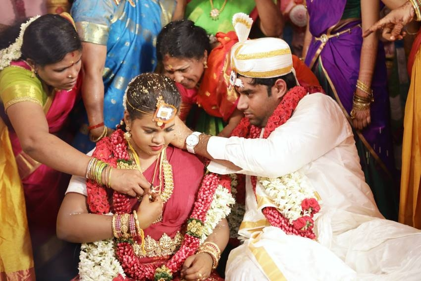 Salem RR Biriyani MD Tamil Selvan's Daughter Marriage Function Photos