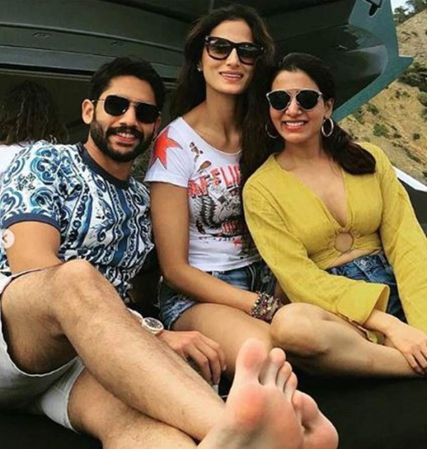 Samantha Akkineni & Naga Chaitanya Romantic Vacation Photos