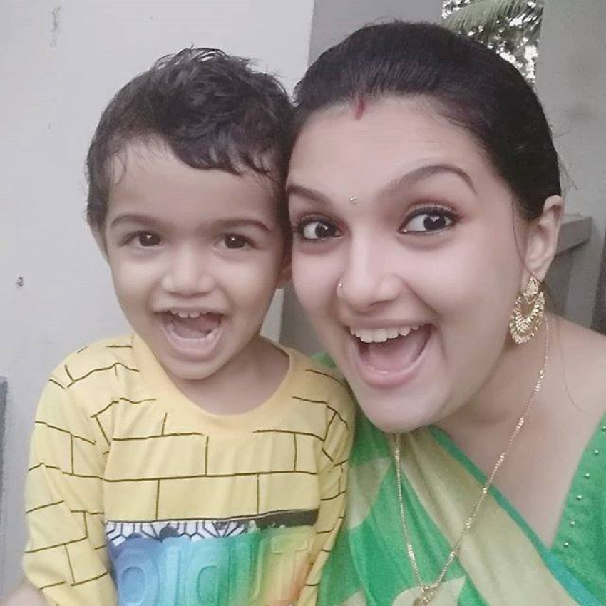 Saranya Mohan Family Photos 2019 Photos
