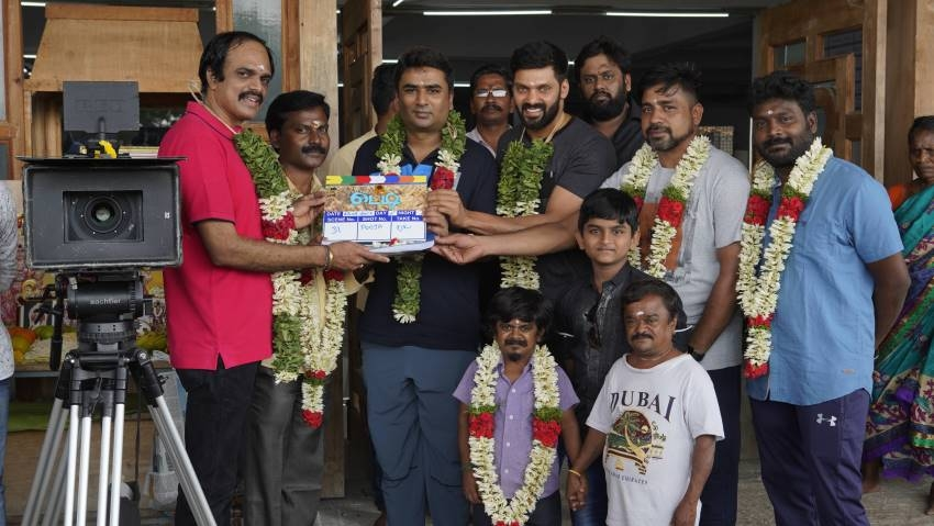 Teddy Movie Pooja Photos