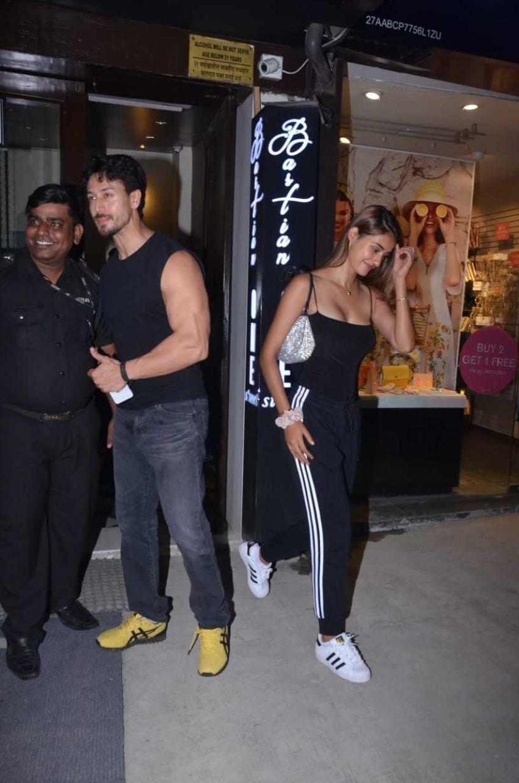 Tiger Shroff And Disha Patani Spotted At Bandra Photos