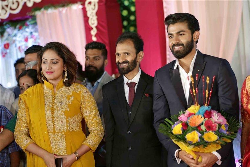 Yuvarajkumar Wedding Reception Photos
