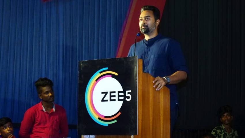 Zee5 Tamil Original Web Series Thiravam Screening and Press