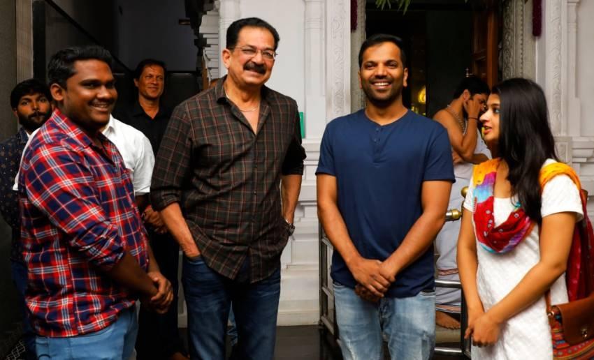 Actress Aishani Shetty And Gultoo Naveen New Movie Pooja Photos