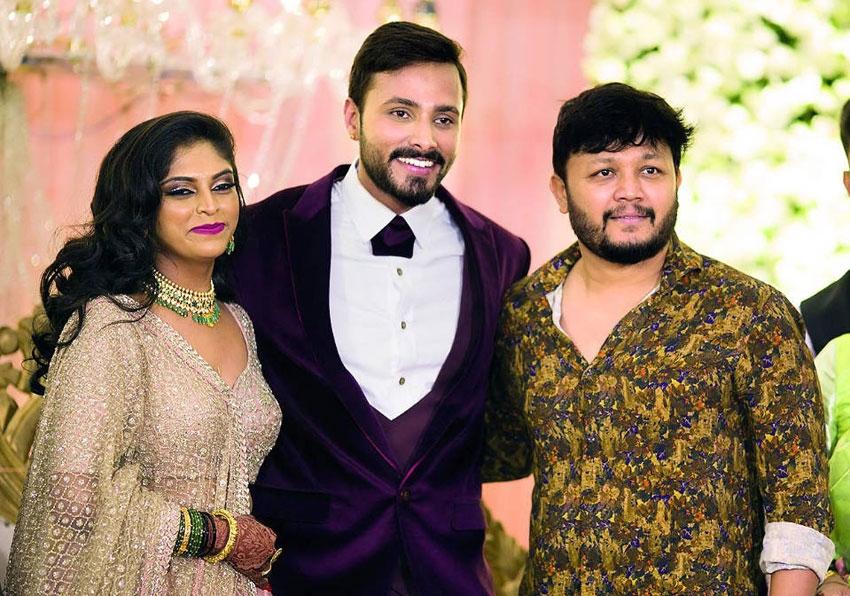Bigg Boss Fame Jagan And Rakshita Marriage Photos
