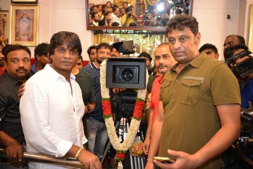 Duniya Vijay's Salaga Movie Opening Photos