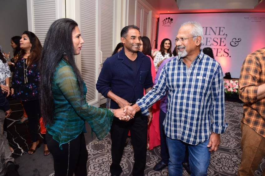 Maniratnam &Suhasini Attended The launch of Leap Wellness Studio And Indoor Golf Photos
