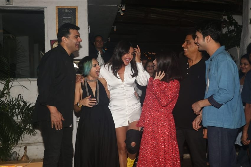 Priyanka Chopra At Wrap Up Party Of Sky Is Pink Photos