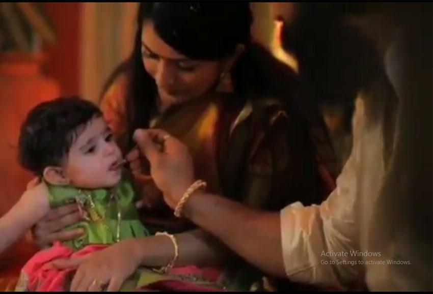 Radhika Pandit And Yash daughter Ayra Baby Naming Ceremony