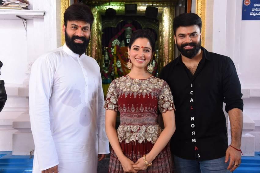 Raju Gari Gadhi 3 Movie Pooja Photos