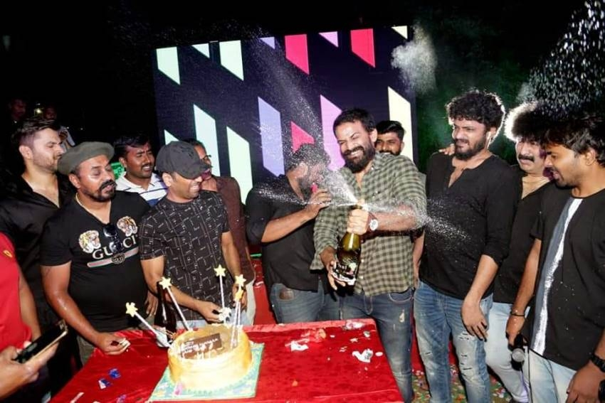Sathish Ninasam Birthday Photos
