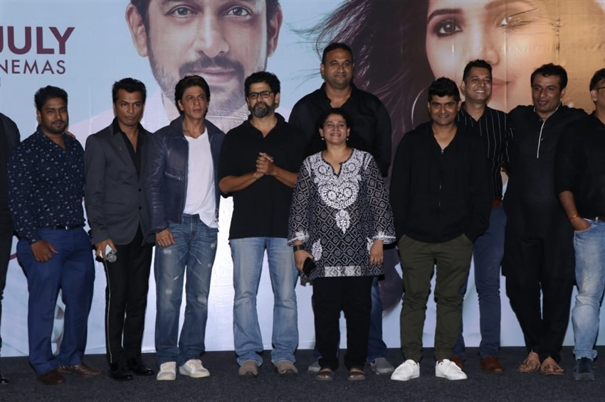 Shahrukh Khan at trailer launch of Marathi film 'Smile Please' Photos