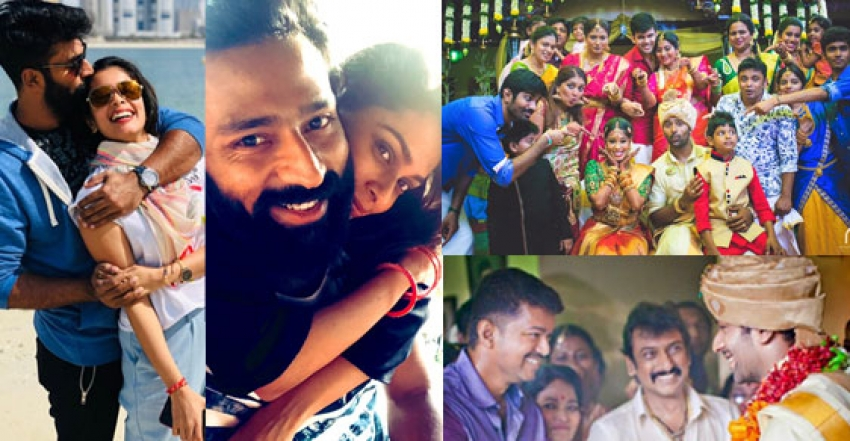 Shanthanu Bhagyaraj Family Photos