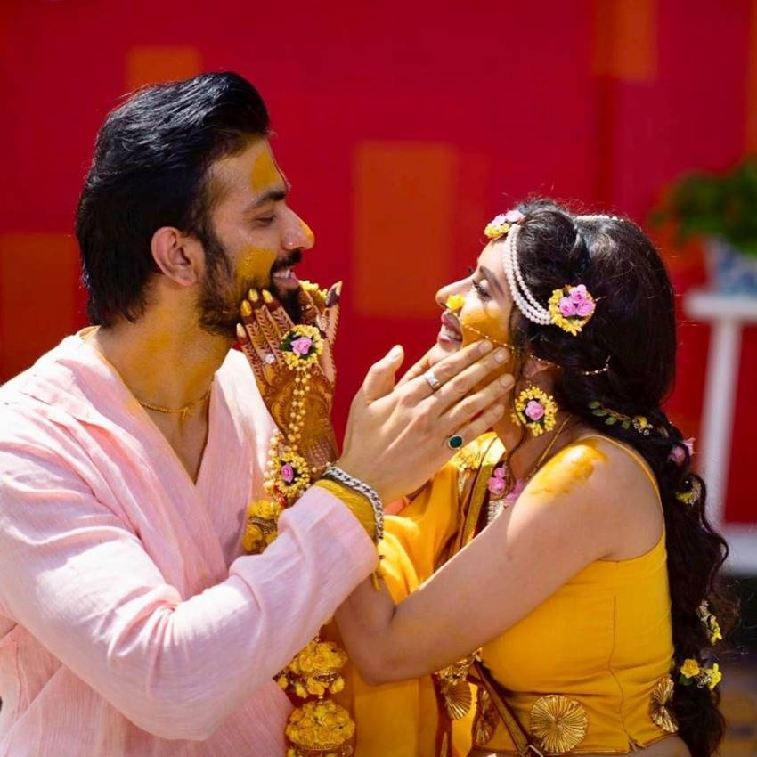 Sushmita Sen's Brother Rajeev And Charu Asopa Wedding Photos