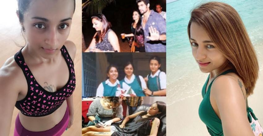 Actress Trisha Personal life Viral Photos