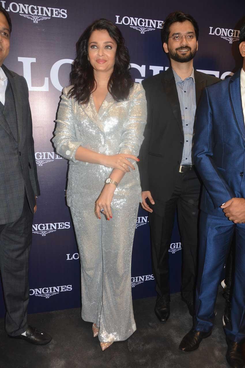 Aishwarya Rai Bachchan snapped during Longines Event in Chennai Photos
