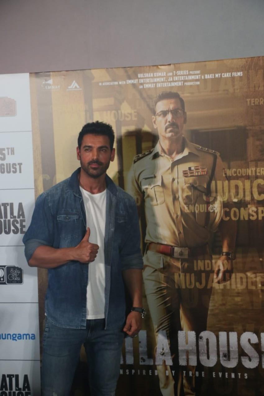 Batla House Trailer Launch Photos