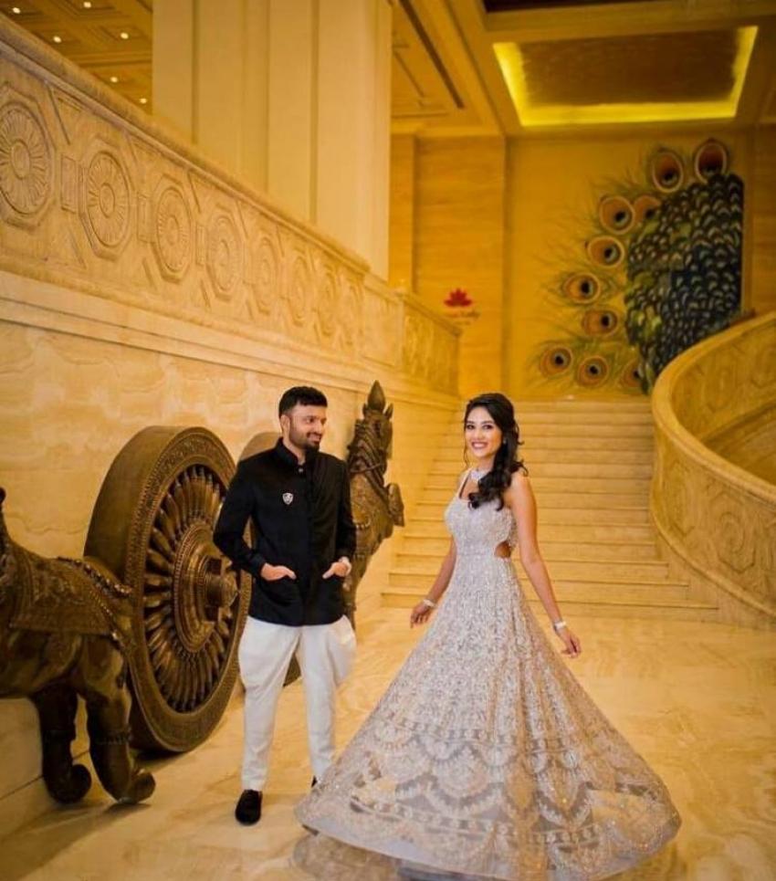 Director Anand shankar And Divyanka Wedding Photos