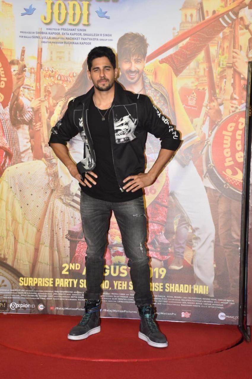 Jabariya Jodi Trailer Launch Photos