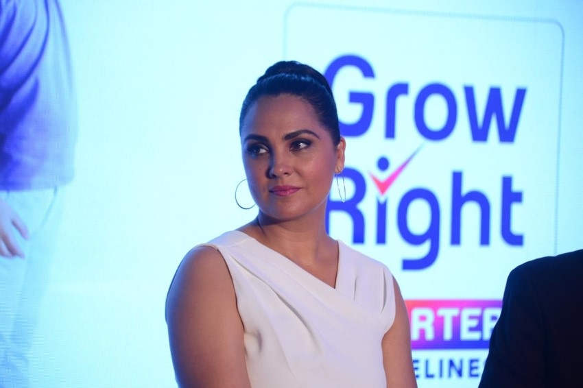 Lara Dutta at the launch of Abbott Nutrition's Grow Right Charter Photos