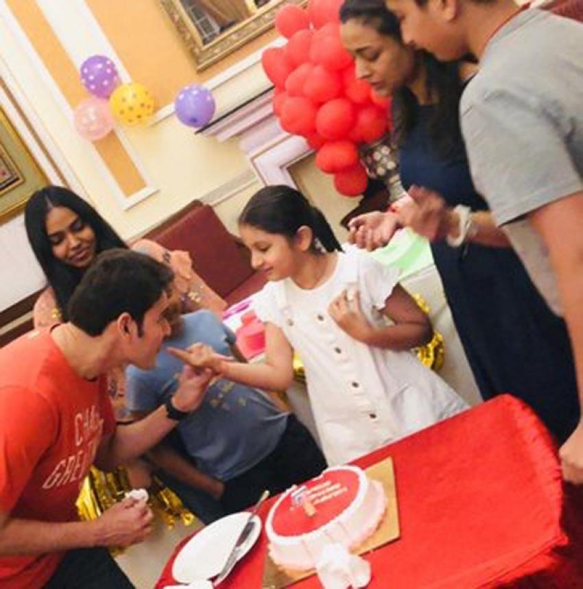 Mahesh Babu Daughter Sitara Birthday Celebrations Photos