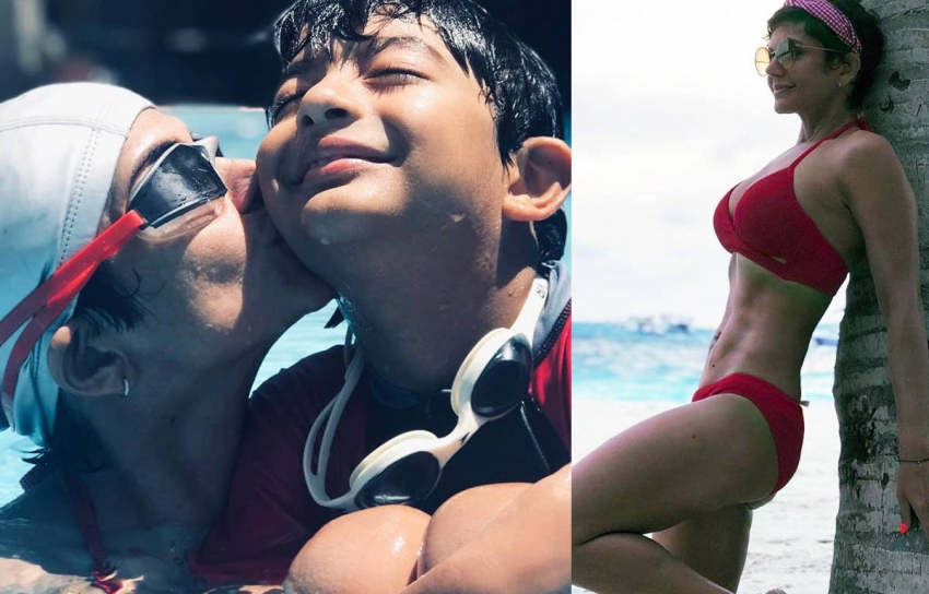 Mandira Bedi The Fittest Mom At The Age Of 47 Photos