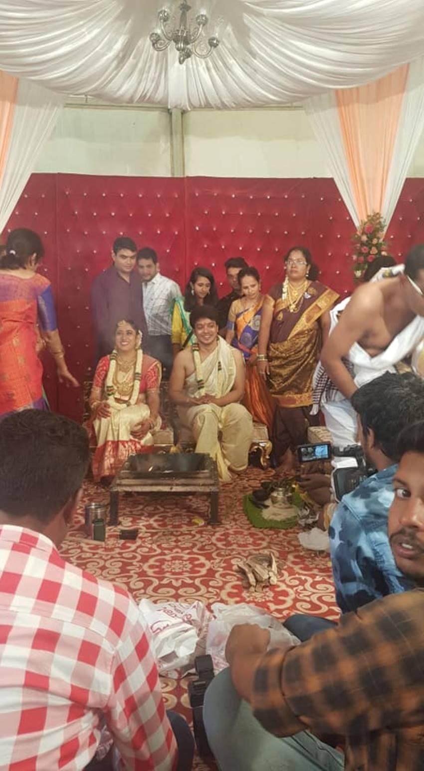 MG Srinivas Wedding Photos