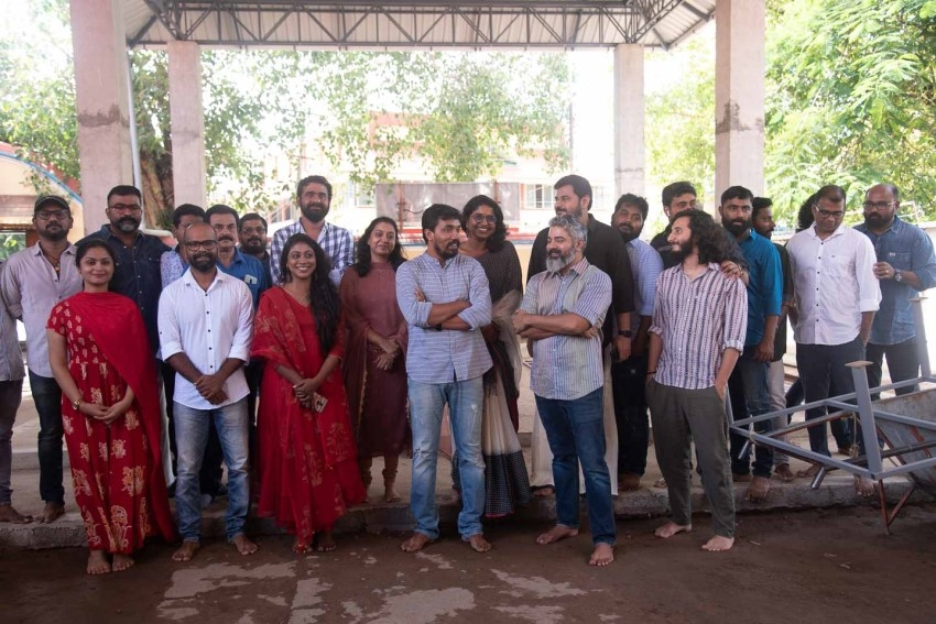 Midhun Manuel Thomas New Movie Pooja Photos
