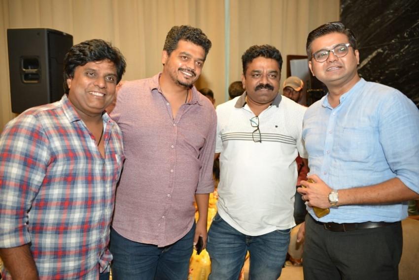 Pailwaan Movie Press Meet Photos