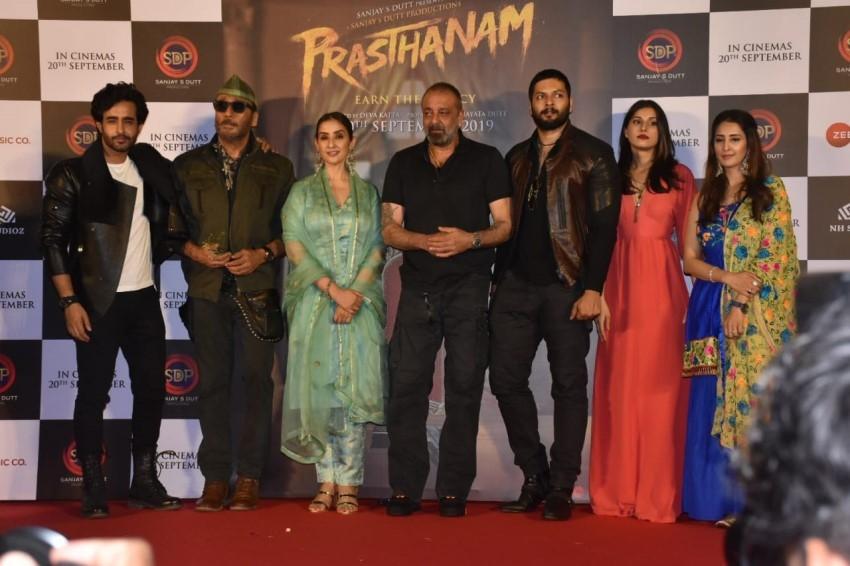 Prasthanam Teaser Launch Photos
