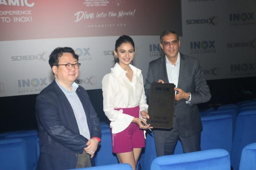 Rakul Preet Singh at Inox Screenx Launch ,in Mumbai Photos