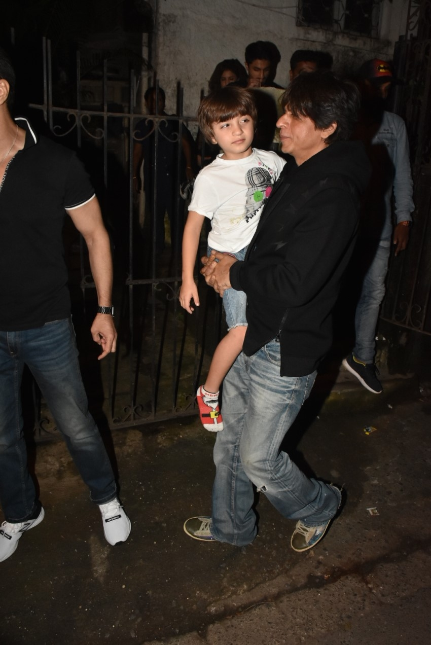 Shahrukh Khan & other Celebs at The Lion King screening at PVR Icon Photos