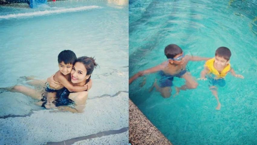 Soundarya Rajinikanth Gets trolled For Posting Swimming Pool Photos