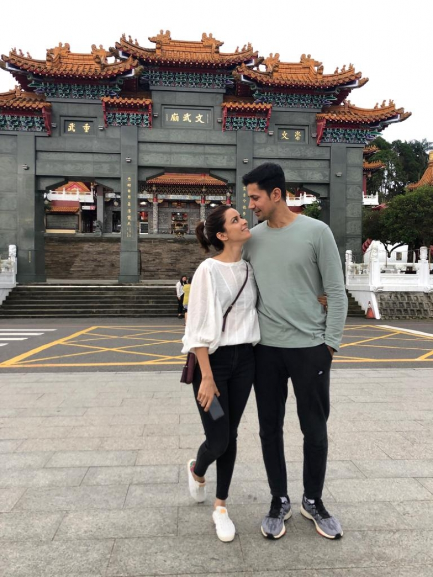 Sumeet Vyas Vacations With His Wife Ekta In Taiwan Photos