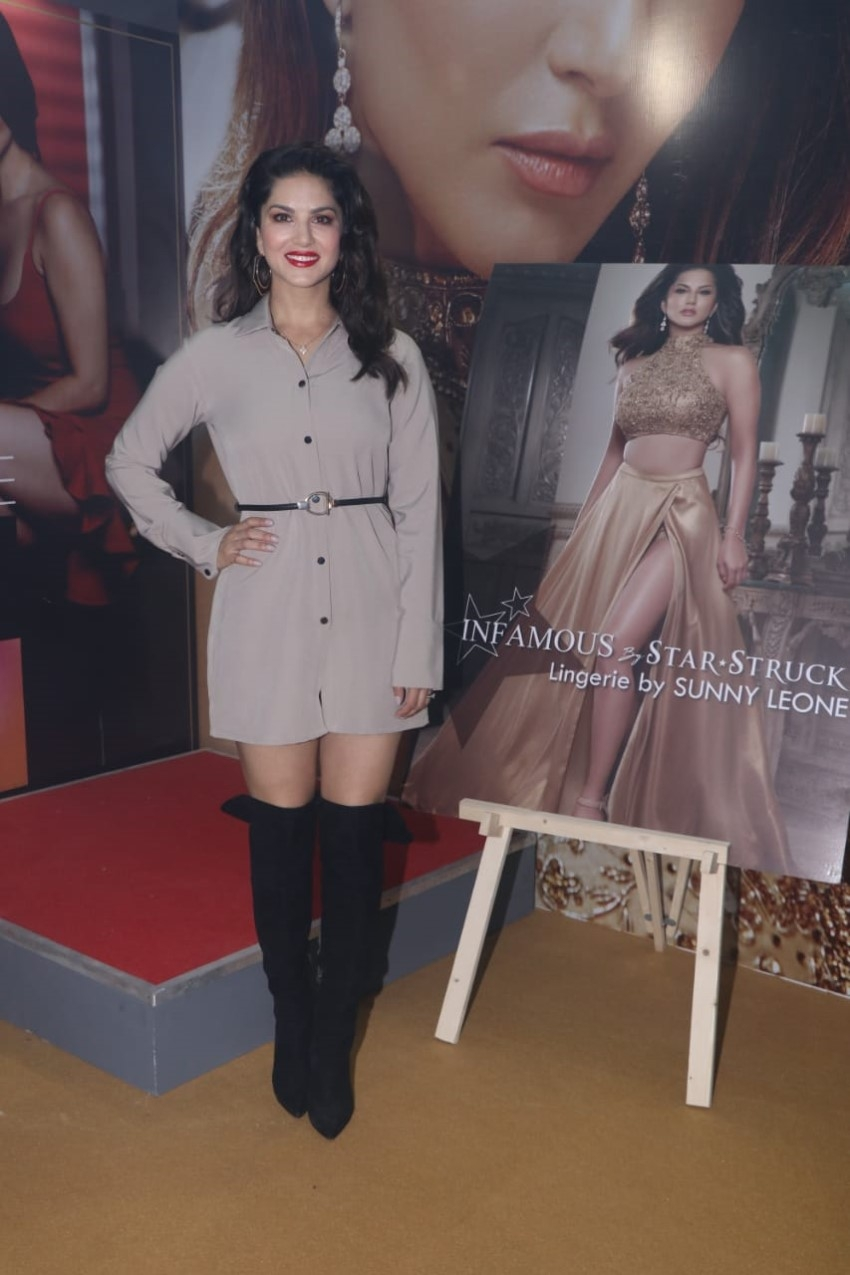 Sunny Leone at the launch of the India Licensing Expo 2019 Photos