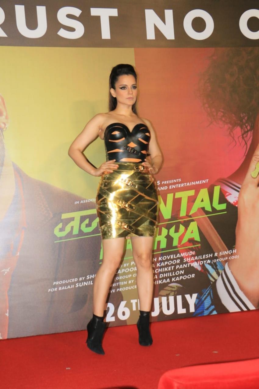 Trailer Launch of Judgemental Hai Kya Photos