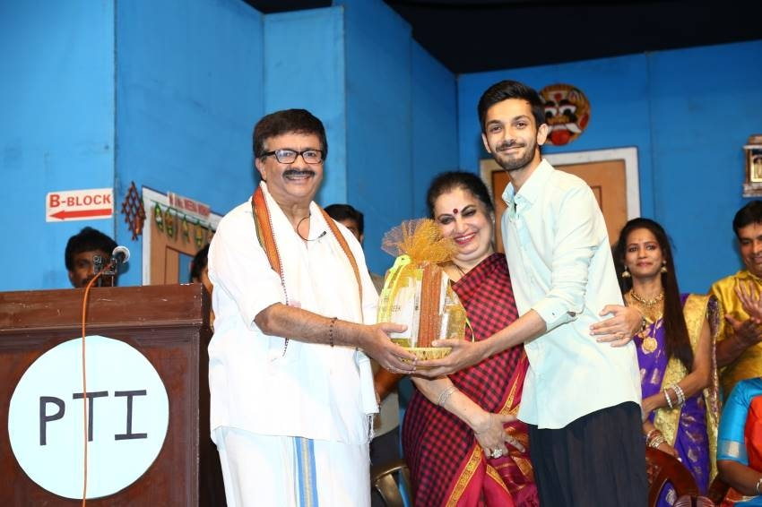 Celebrities at YG Mahendran's 3Ji 100th Show Celebration Photos